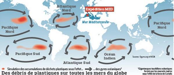 Zone pollué
